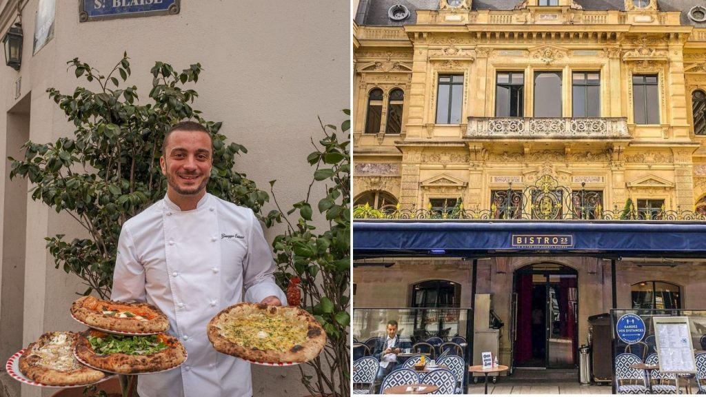 bistro 25 terrasse paris pizza peppe giuseppe cutraro