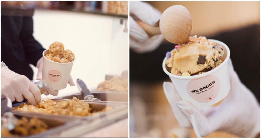Pop up store pâte à cookie crue We Dough Paris 3 mois Monoprix
