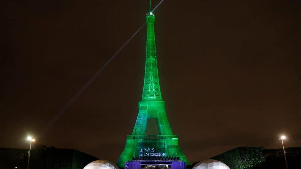 Écologie : La Tour Eiffel a été éclairée à l'hydrogène 100% vert pour la première fois de son histoire !