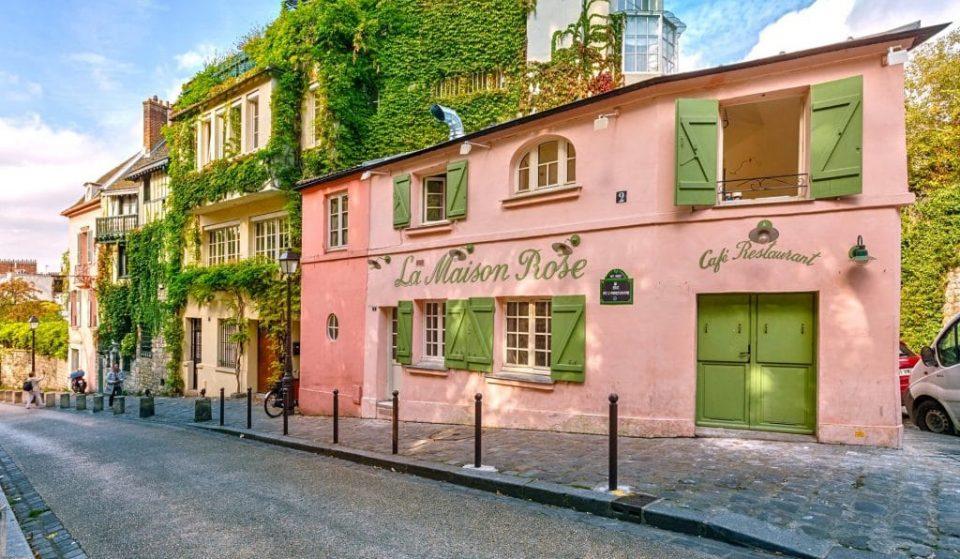 Découvrez l'histoire et les secrets de l'iconique Maison Rose de Montmartre…
