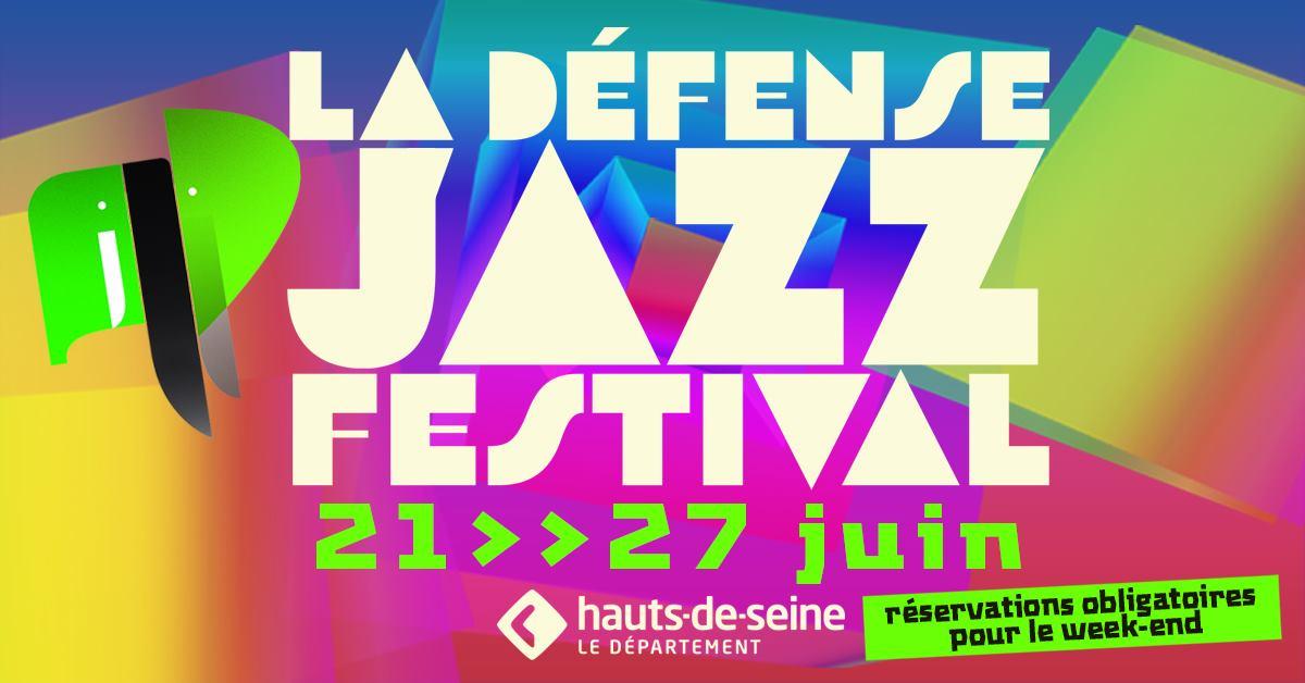 la défense jazz festival paris plein air gratuit concert
