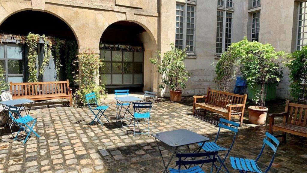 musée cognacq-jay terrasse café éphémère été culture exposition visite paris