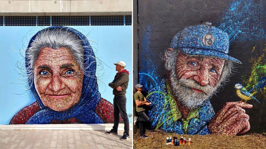 Street art RAST Paris