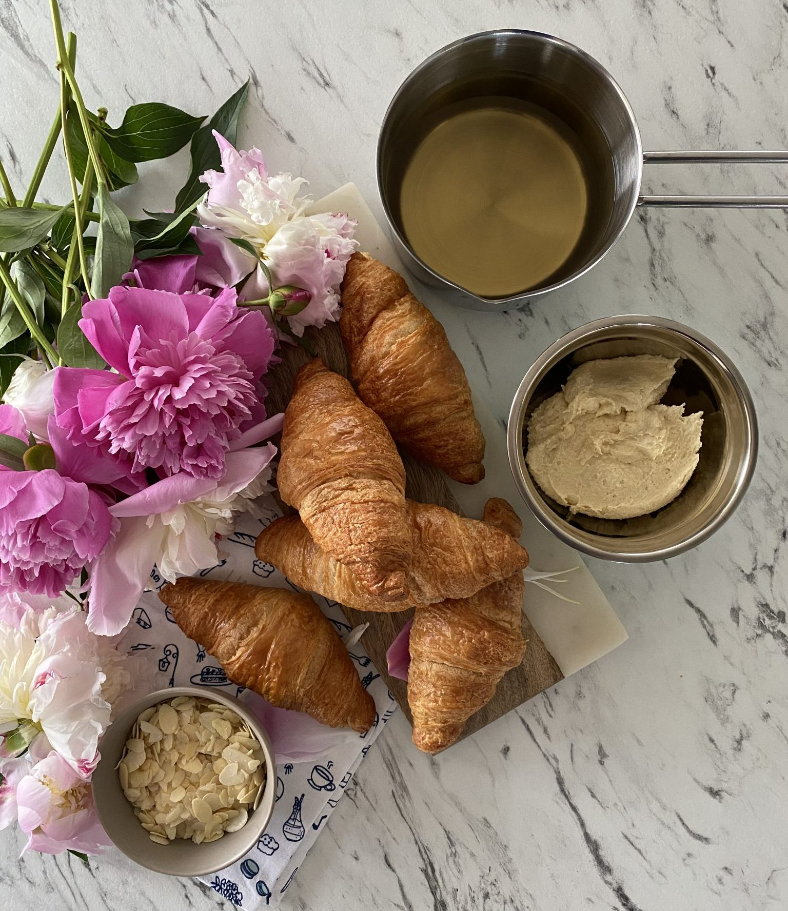 recette croissant aux amandes paris secret bakemetoparis cheffe