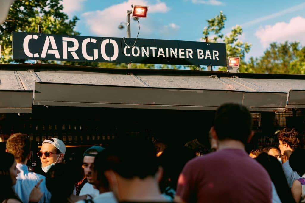 Cargo Container Bar Paris