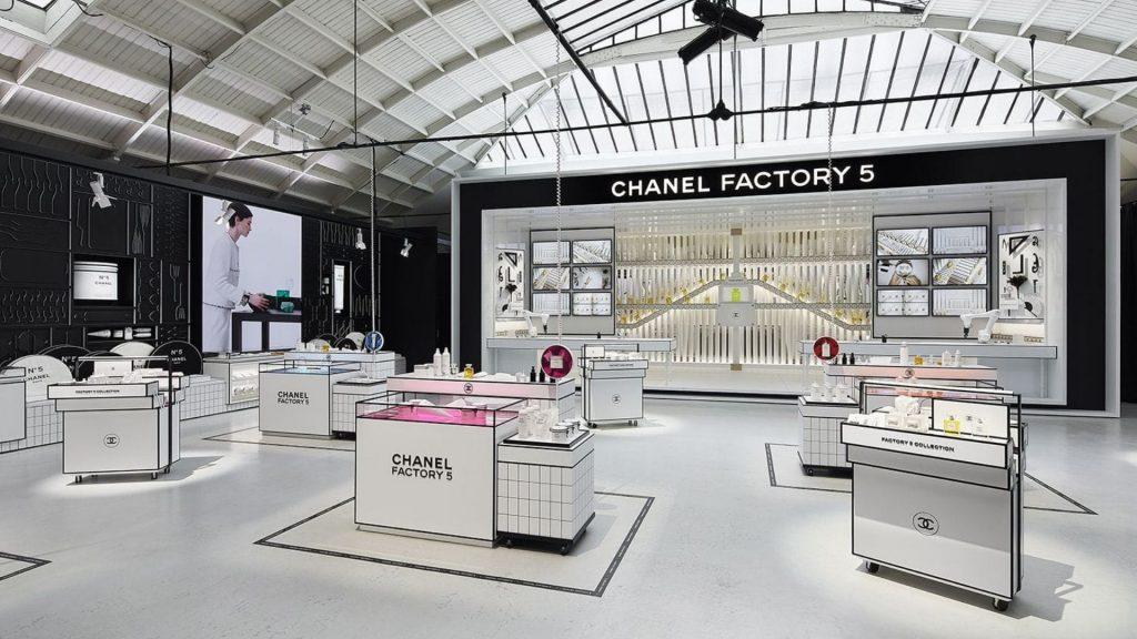 chanel pop up paris parfum 100 ans n°5 juillet