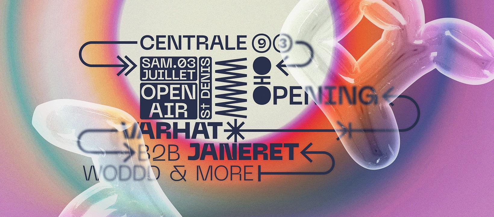 centrale 93 opening open air festival dj set marché créateurs vinyles paris friche