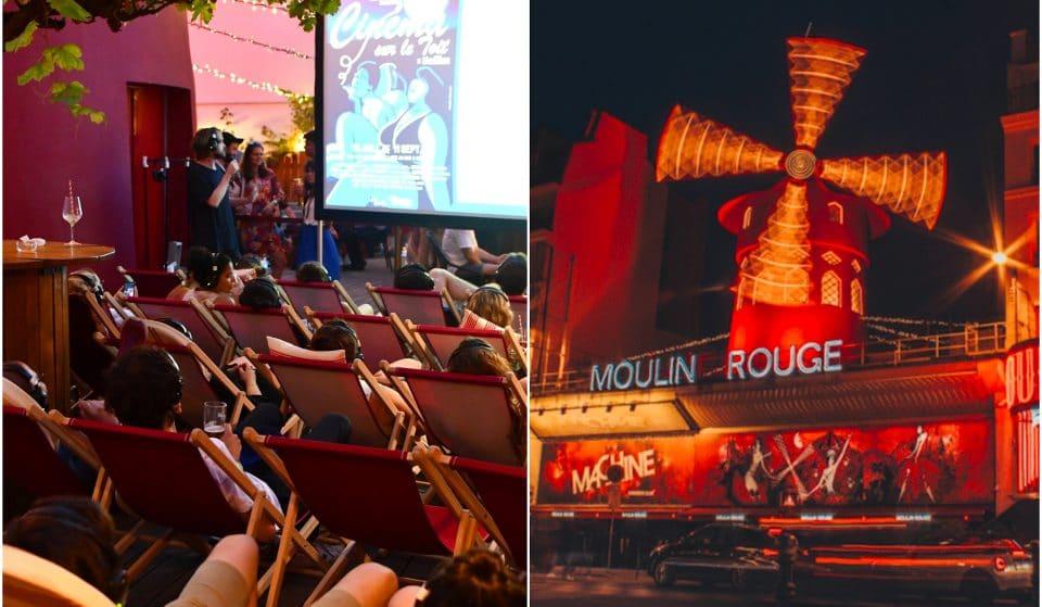 Paris : un cinéma en plein air GRATUIT s'installe à nouveau sur le toit du Moulin Rouge !