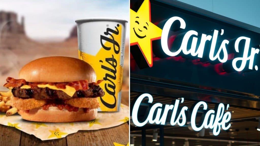 carl's jr paris californie aeroport carl's jr café barista burger milkshake