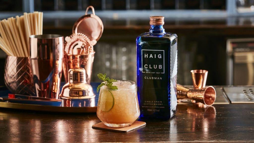 haig club cocktail haig mule club citron whisky
