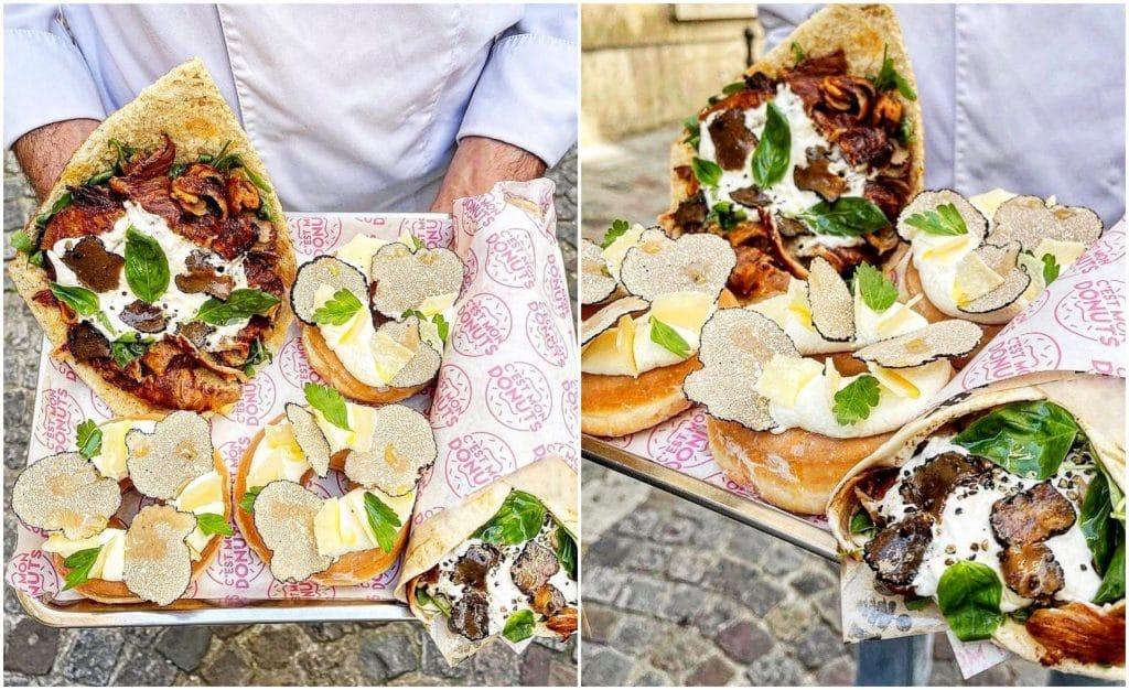 Foodporn Paris Kebab donuts truffe édition limitée
