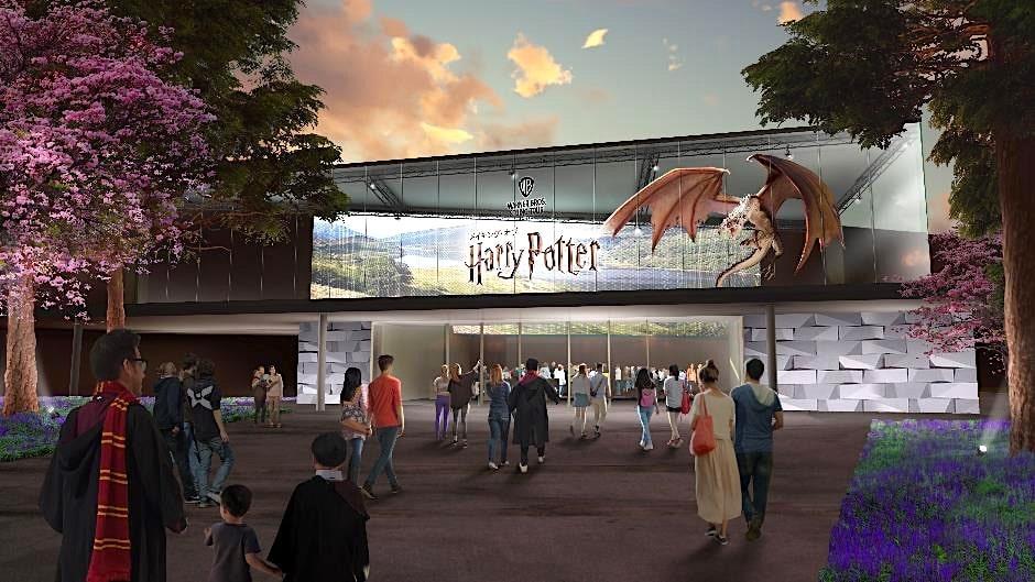 Parc Harry Potter 3000 m2 Tokyo