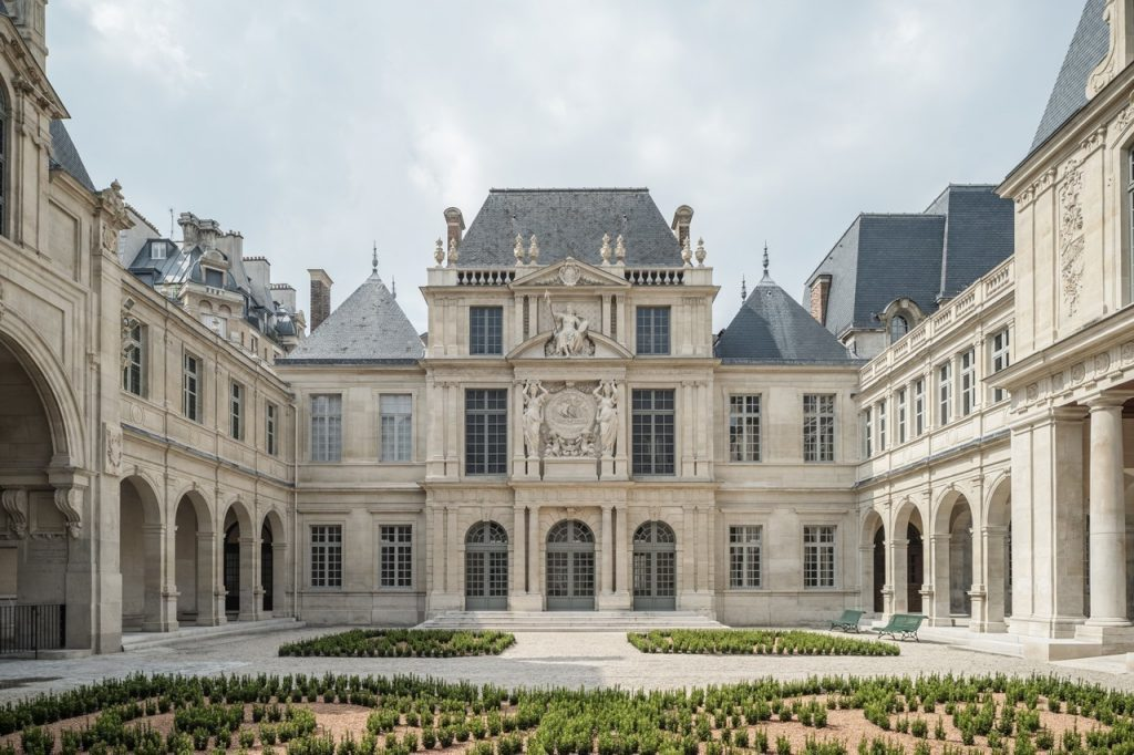 Les Jardins d'Olympe restaurant éphémère Chloé Charles Top Chef Musée Carnavalet
