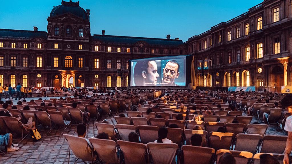 Festival Paradiso Cinéma plein-air gratuit Paris mk2