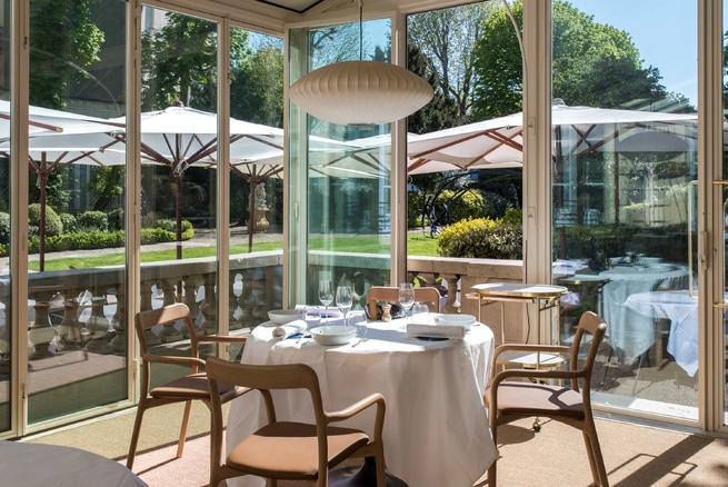 restaurant alain ducasse jardin secret caché rech maison amérique latine paris saint germain des prés terrasse