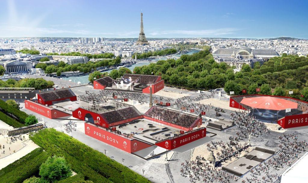 Place de la Concorde Paris JO 2024