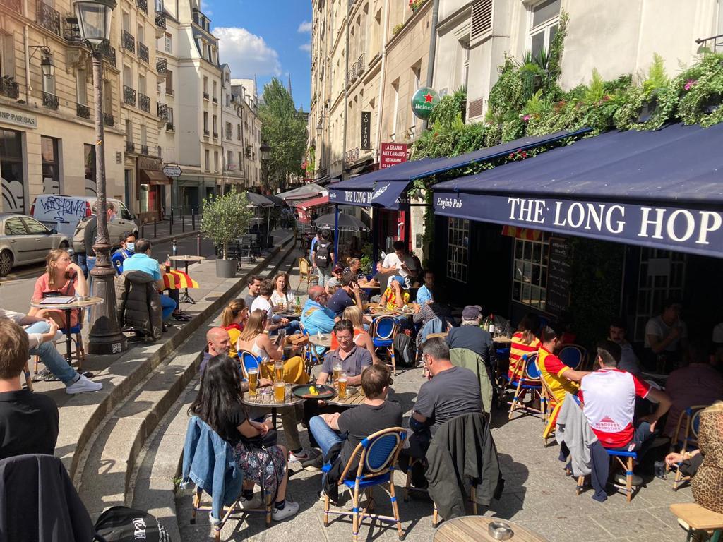 long hop paris pub euro 2021
