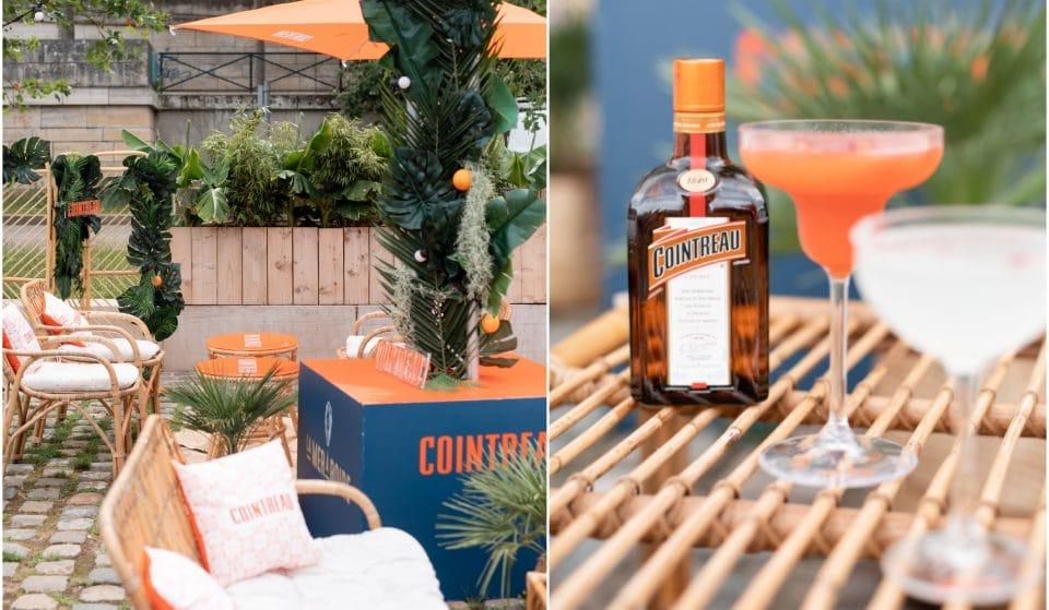 Une terrasse éphémère de 500m2 où déguster des cocktails, dont la célèbre Margarita Cointreau : découvrez le spot de l'été !