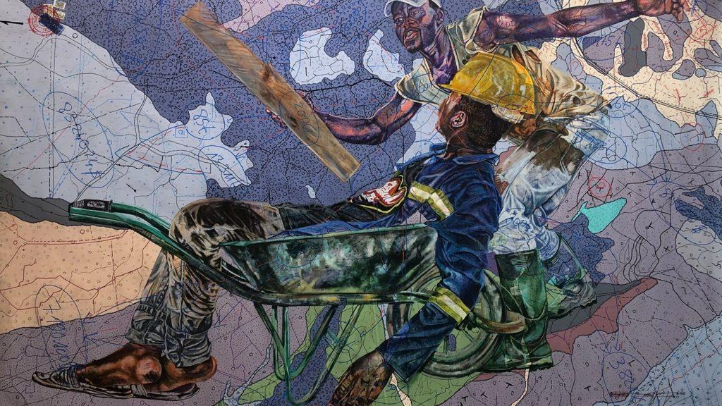 Une exposition d'art contemporain africain sur la condition humaine à la Galerie Afikaris à Paris
