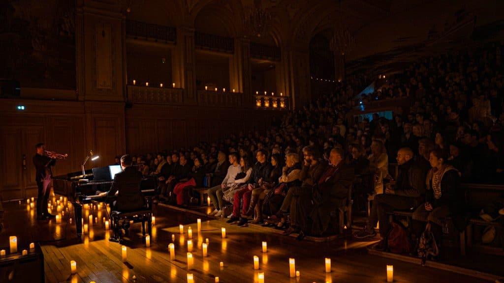 Concert Candlelight Piano et Trompette à la bougie Fête de la Musique Paris