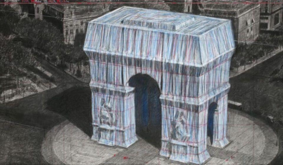 L'Arc de Triomphe empaqueté : l'oeuvre posthume monumentale de Christo dévoilée en septembre !