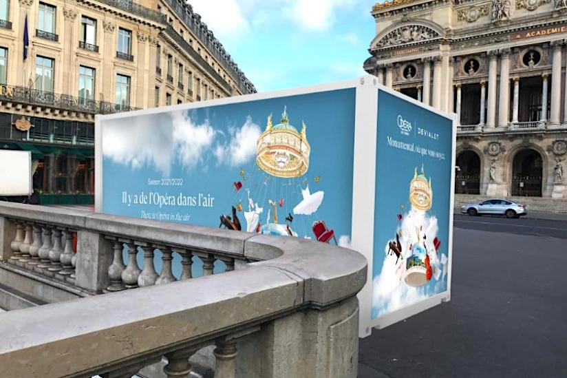 Cabine musicale immersive Place de l'Opéra Paris Fête de la musique 2021