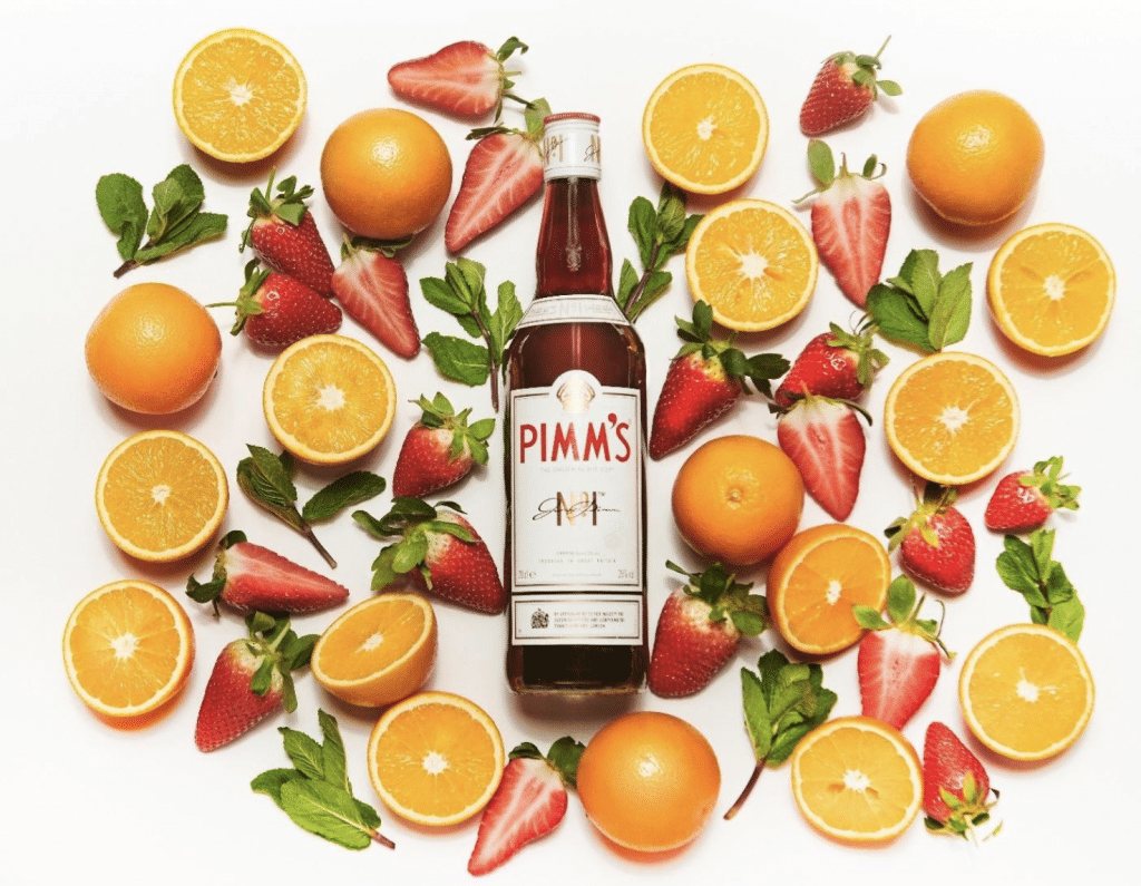 PIMM'S ORIGNIAL cocktail rafraichissant été