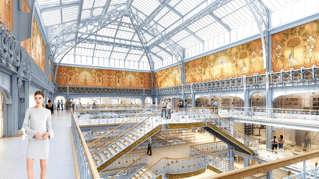 La Samaritaine plus grand espace beauté 3000 m2 plus grand d'Europe