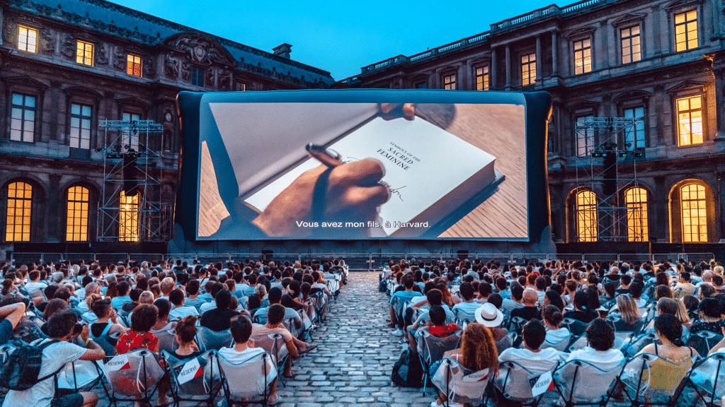 Festival Paradiso Louvre Cinéma plein air gratuit Paris Programme 2021