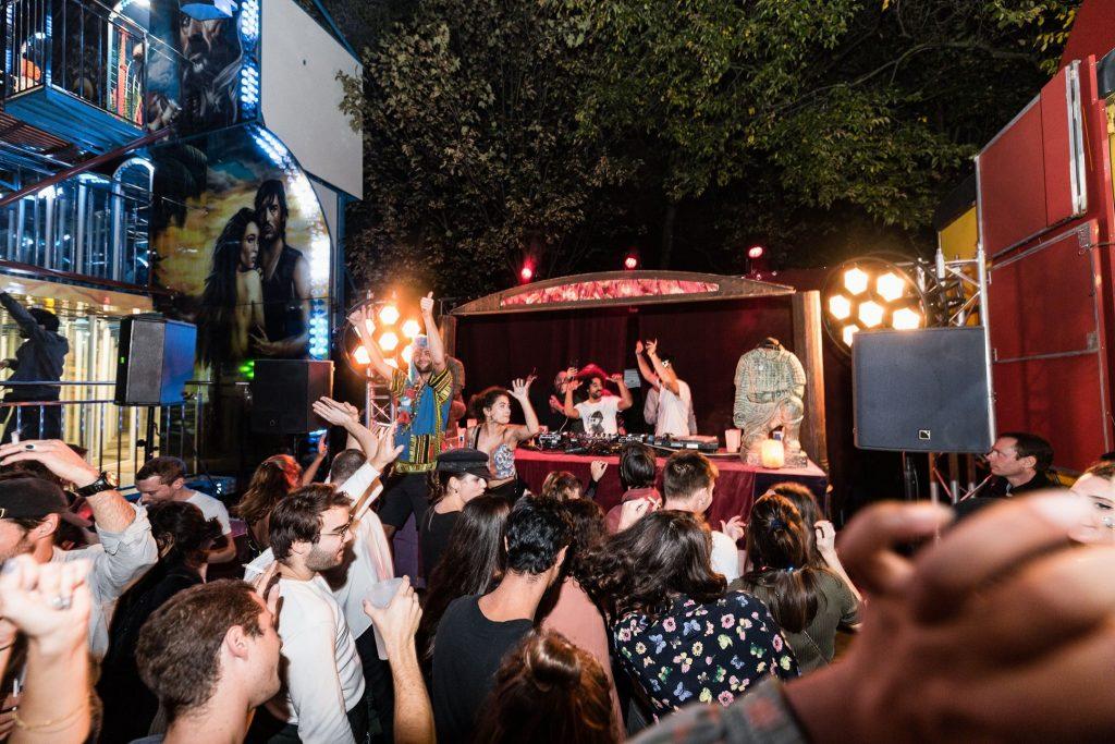 Madame Loyal été 2021 cirque Fête foraine festival électro