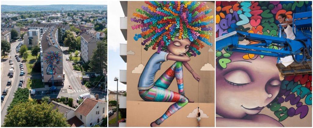 Parcours street art Chatou juin 2021
