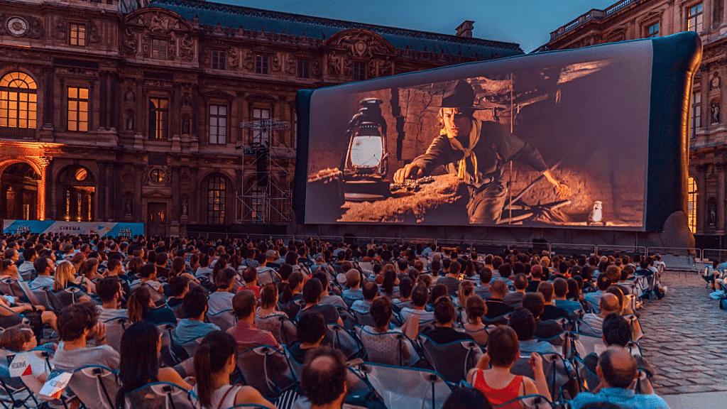 Tous les cinémas en plein air Gratuit été Paris