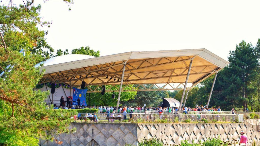 traffix music paris plein air jazz bois de vincennes parc floral