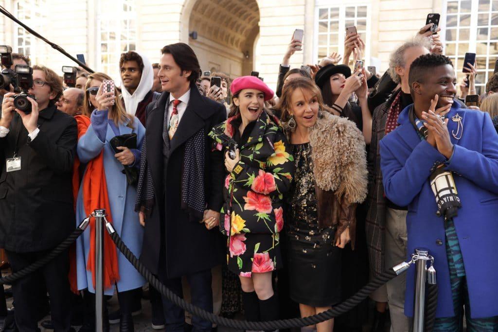 Casting figurants très fashion saison 2 Emily in Paris Netflix