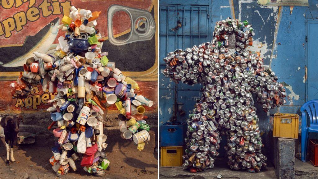 Homo Detritus exposition photo paris school gallery galerie oliver castaing pollution