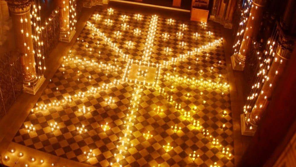eglise saint etienne du mont visite nocturne paris sainte genevieve polaris bougie
