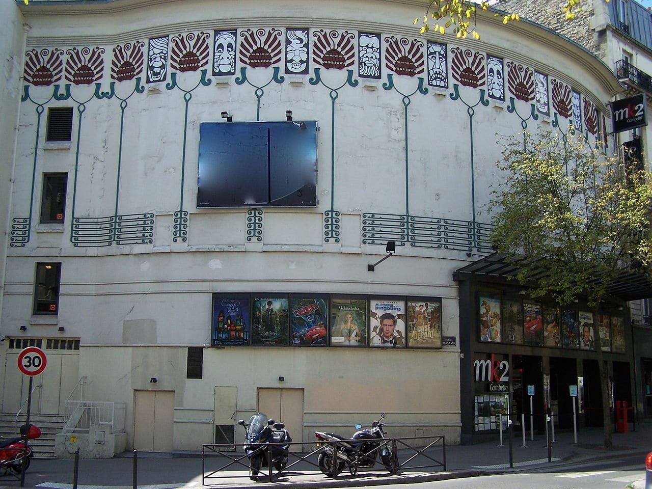 cinéma MK2_Gambetta paris art déco henri sauvage