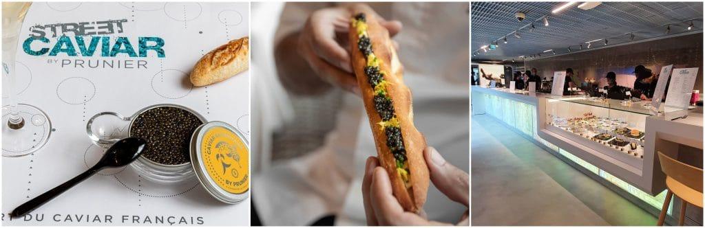 Street Caviar by Prunier La Samaritaine