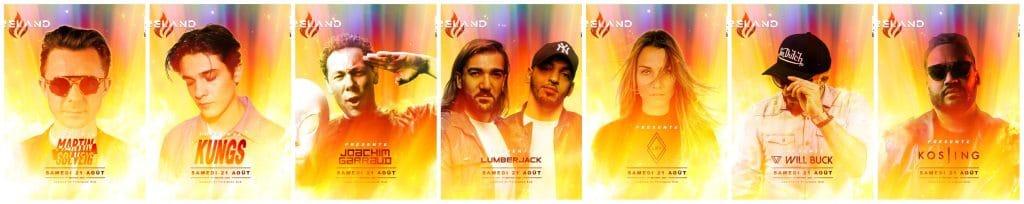Été 2021 insolite festival electro caserne de pompiers Fireland Festival