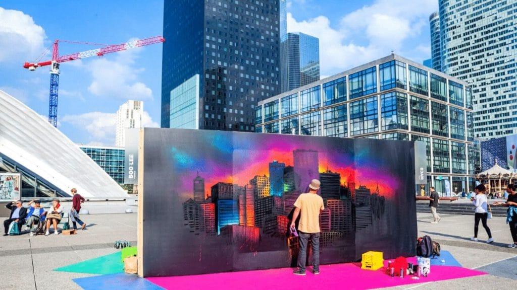urban week la défense 2021 paris street art culture urbaine festival rentrée été septembre
