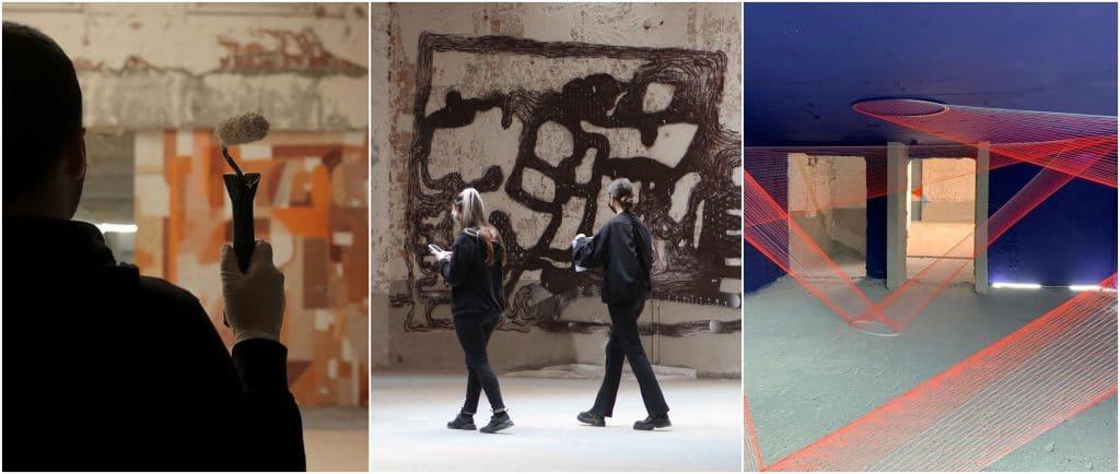 L'Essentiel 2000 m2 street art immeuble désaffecté Paris Gare de l'Est