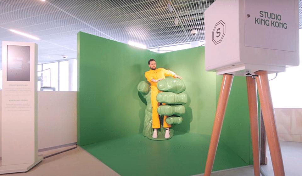 Alerte spot Instagrammable : le «Studio King Kong», une expérience de réalité augmentée inédite à La Samaritaine !