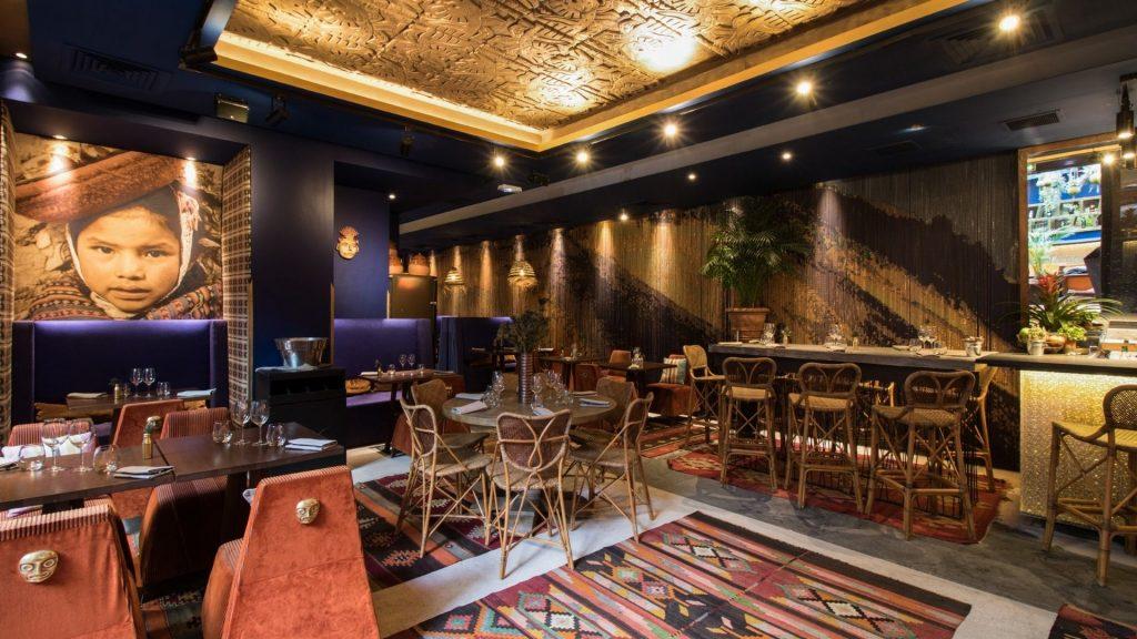 inka paris restaurant dining in the dark cuisine diner à l'aveugle expérience fever