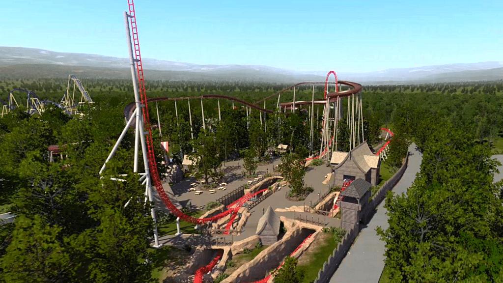 Toutatis Parc Astérix plus haute et plus rapide attraction France