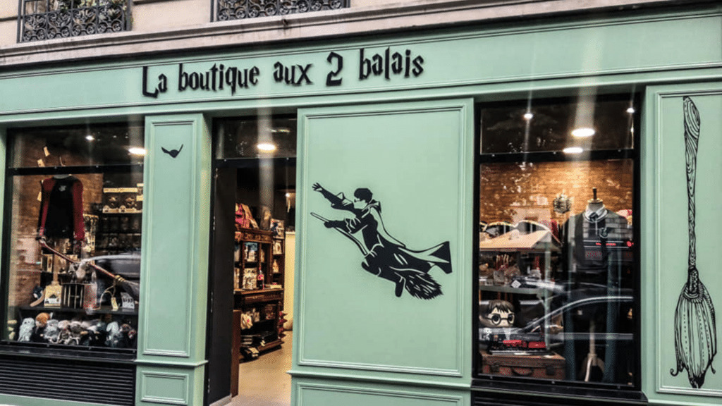 Boutique Harry Potter Paris