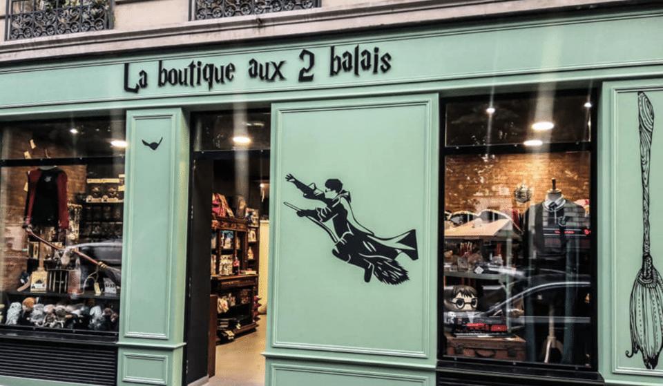 Une boutique immersive inédite dédiée à l'univers d'Harry Potter vient d'ouvrir ses portes à Paris !