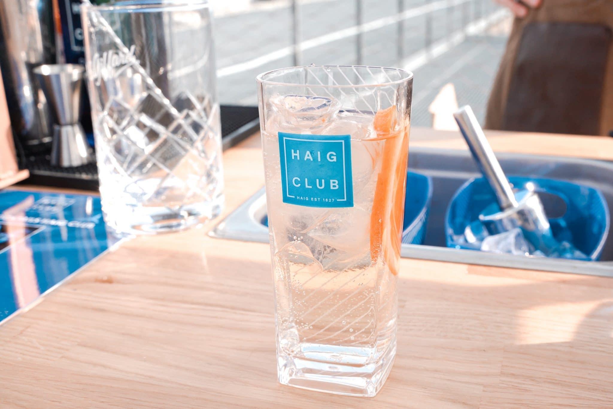 whisky haig club pop up paris 360 bar