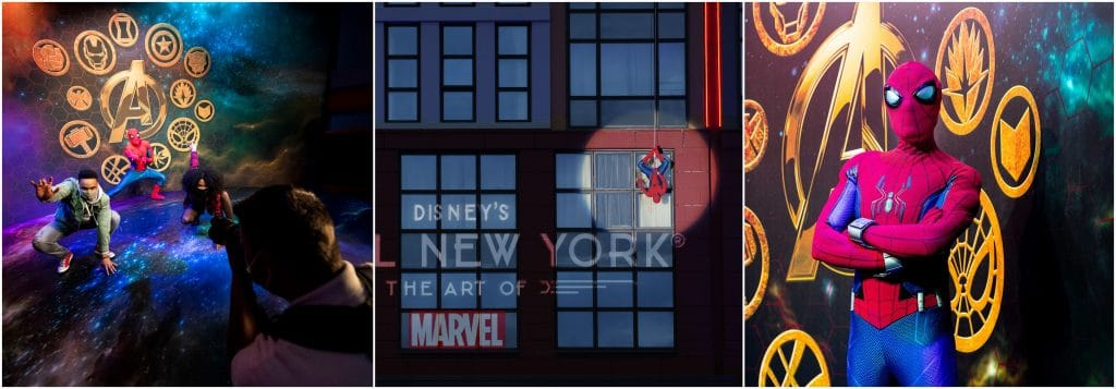 Disney Hotel New York The Art of Marvel 1er hotel au monde Super Heros