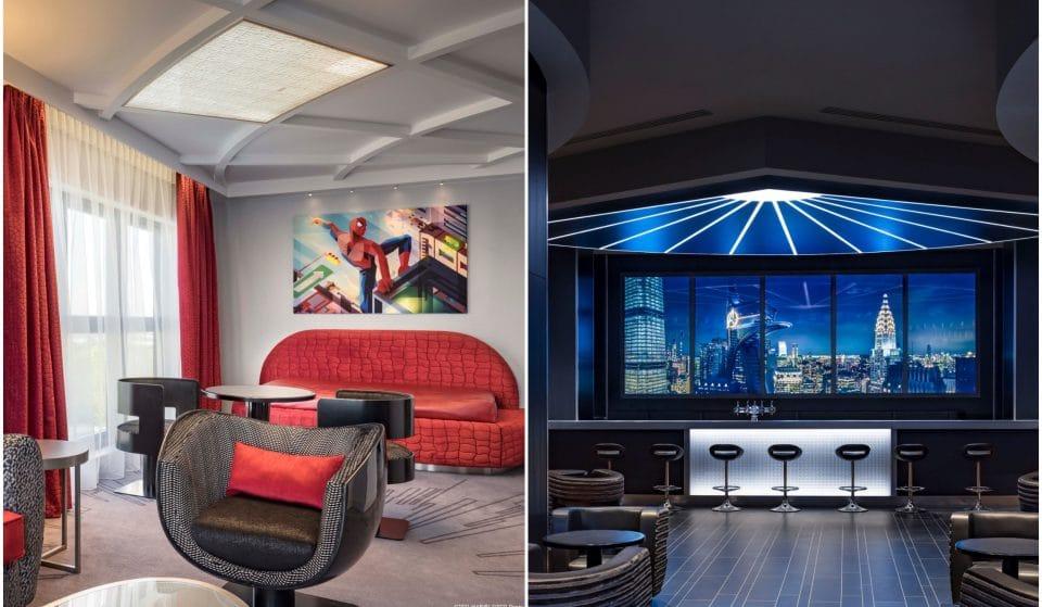 On a testé pour vous le Disney's Hotel New York – The Art of Marvel, 1er Hôtel au monde dédié à l'art Marvel !