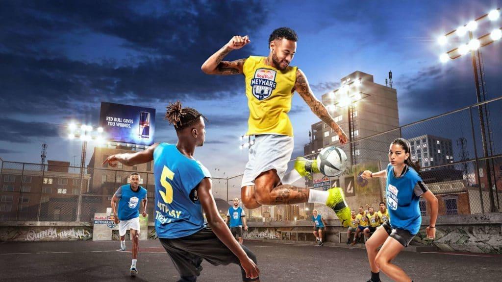 Sport : Un tournoi de football à 5 avec Neymar Jr et Redbull à Paris !